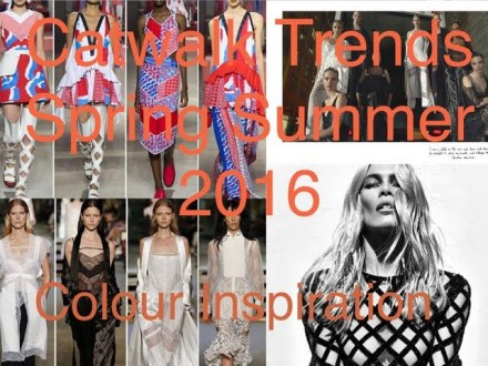 Catwalk Trends Uncovered, Spring Summer Trend Report #SS16
